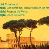 OSN inaugura la Temporada Oficial con el Director José Serebrier y un repertorio italiano