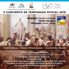OSN y Coro Sinfónico Nacional se fusionan en concierto con más de 175 artistas