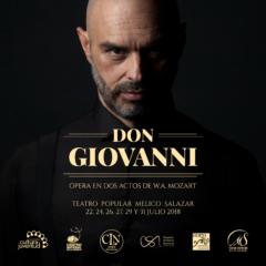 """Este viernes salen a la venta los boletos para la ópera  """"Don Giovanni"""""""