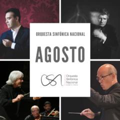 Orquesta Sinfónica Nacional presentará una variada oferta musical en agosto