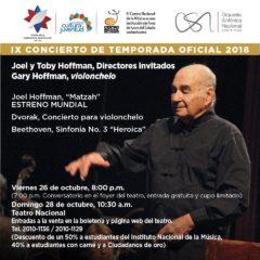 Orquesta Sinfónica Nacional celebra su 78 aniversario con tributo a Irwin Hoffman