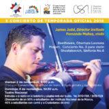 OSN tocará música de Beethoven, Mozart y Shostakovich junto al Director británico James Judd