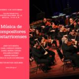 Orquesta Sinfónica Nacional tocará nuevas obras de compositores costarricenses