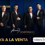 La Orquesta Sinfónica Nacional inicia el año junto a  Los Tenores y el espectáculo Amor Sinfónico