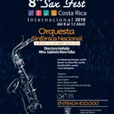 Orquesta Sinfónica se une a tres famosos saxofonistas para tocar en el Sax Fest 2019