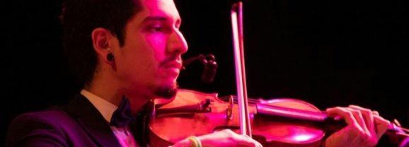 Violinista de la OSN representará al país en la  Orquesta de las Américas
