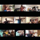 Más de 70 músicos se unen desde sus casas para interpretar la obra costarricense Luna liberiana