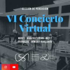 VI Concierto de Temporada Virtual – Orquesta Sinfónica Nacional de Costa Rica (OSN).