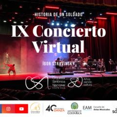 Historia de un soldado, Ígor Stravinsky – Temporada Virtual OSNCR