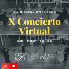 X Concierto de Temporada Virtual