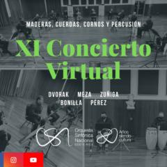 XI Concierto de Temporada Virtual – Orquesta Sinfónica Nacional de Costa Rica