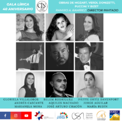Compañía Lírica Nacional conmemora su 40 aniversario con Gala Lírica virtual