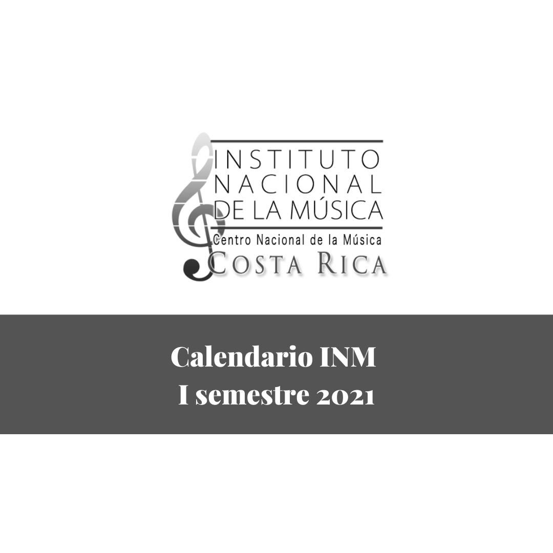 Calendario INM 2021